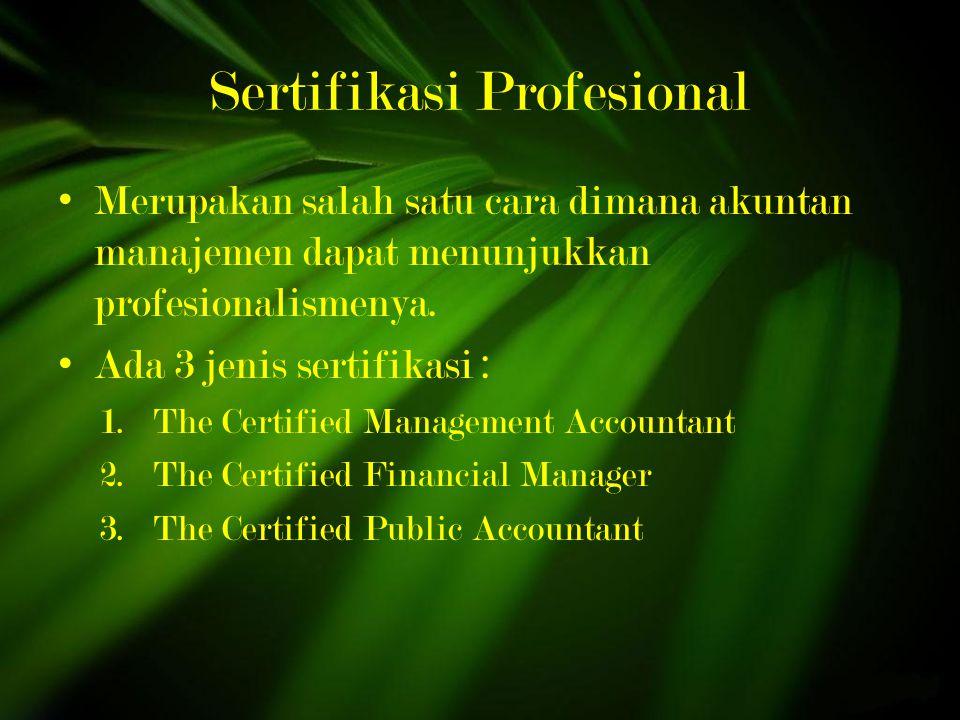 Sertifikasi Profesional