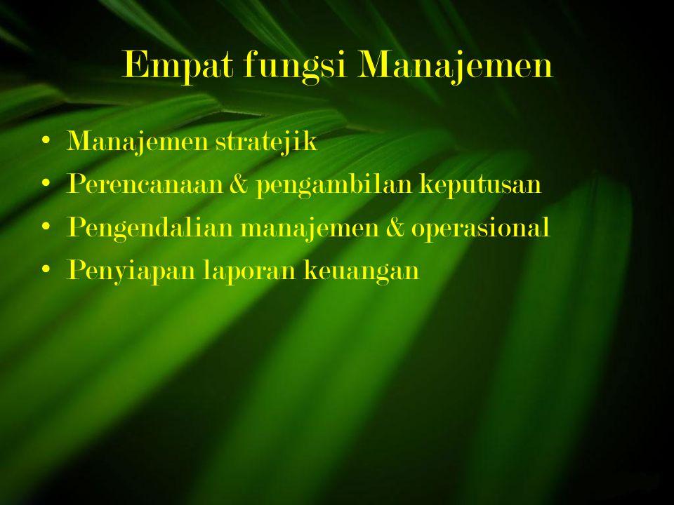 Empat fungsi Manajemen