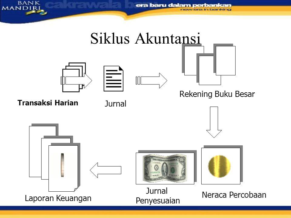   Siklus Akuntansi Rekening Buku Besar Jurnal Jurnal