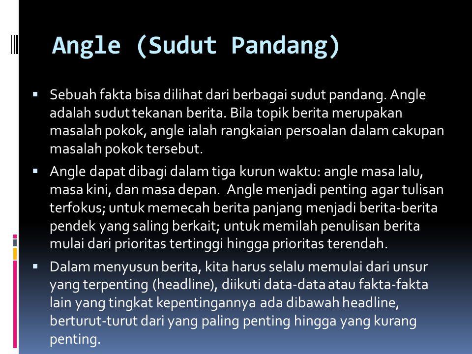 Angle (Sudut Pandang)