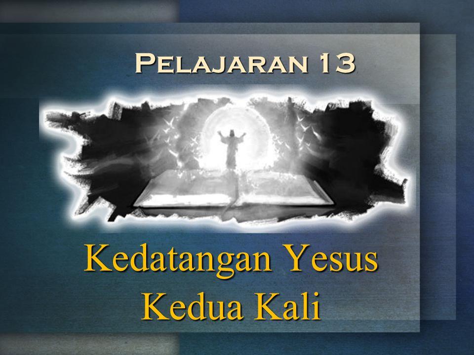Kedatangan Yesus Kedua Kali