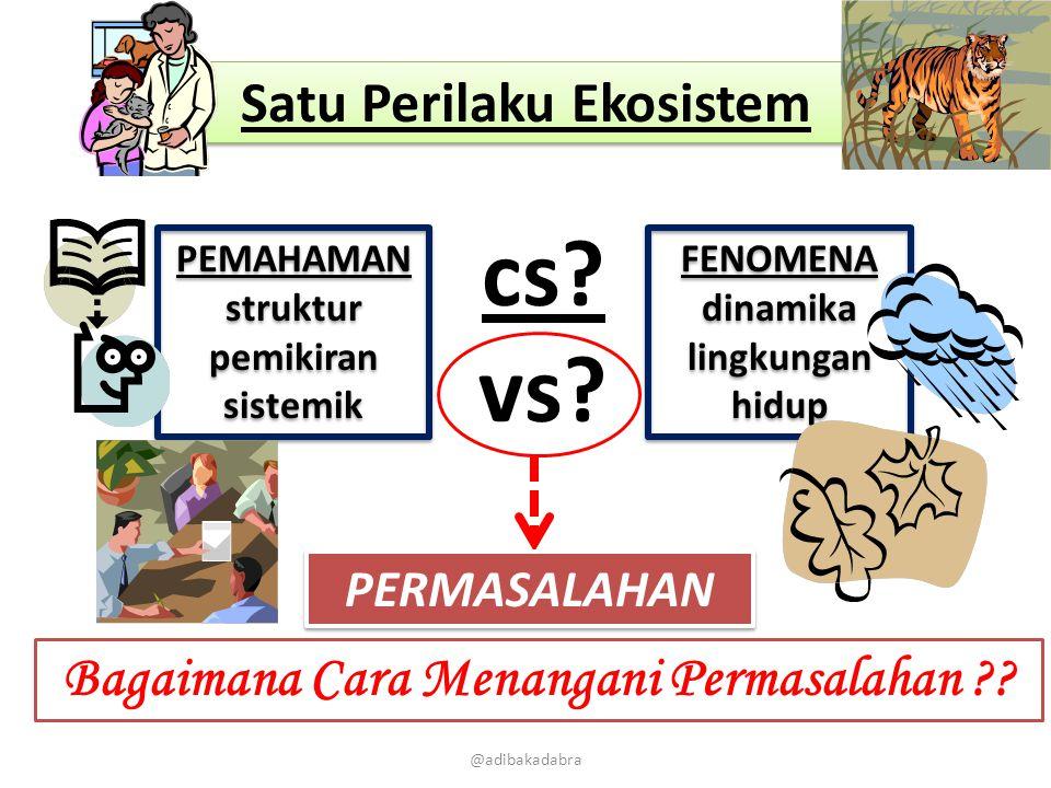 cs vs Satu Perilaku Ekosistem
