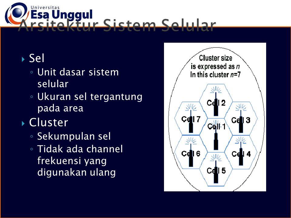 Arsitektur Sistem Selular