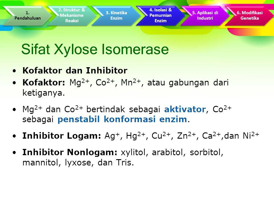 Sifat Xylose Isomerase