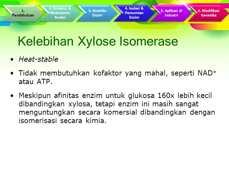 Kelebihan Xylose Isomerase