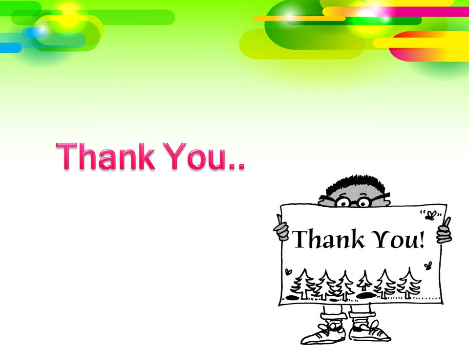 Thank You..