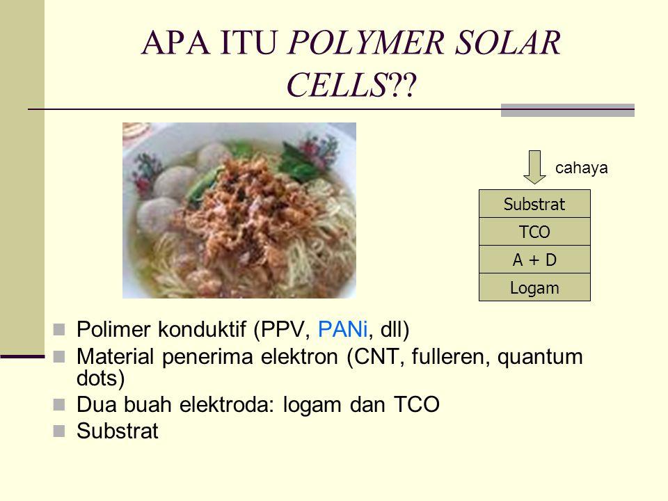 APA ITU POLYMER SOLAR CELLS