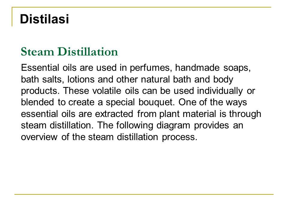 Distilasi Steam Distillation