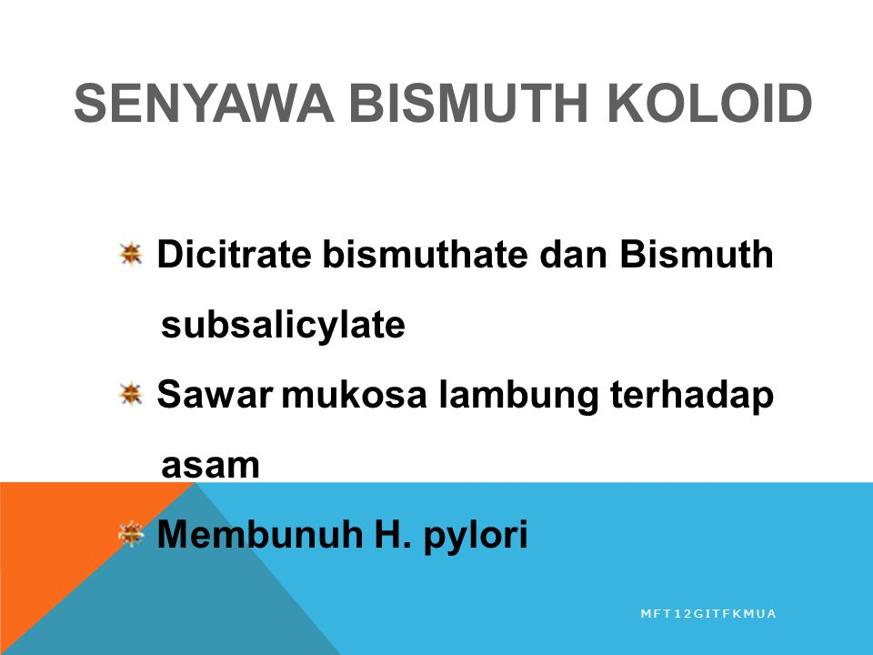 SENYAWA BISMUTH KOLOID