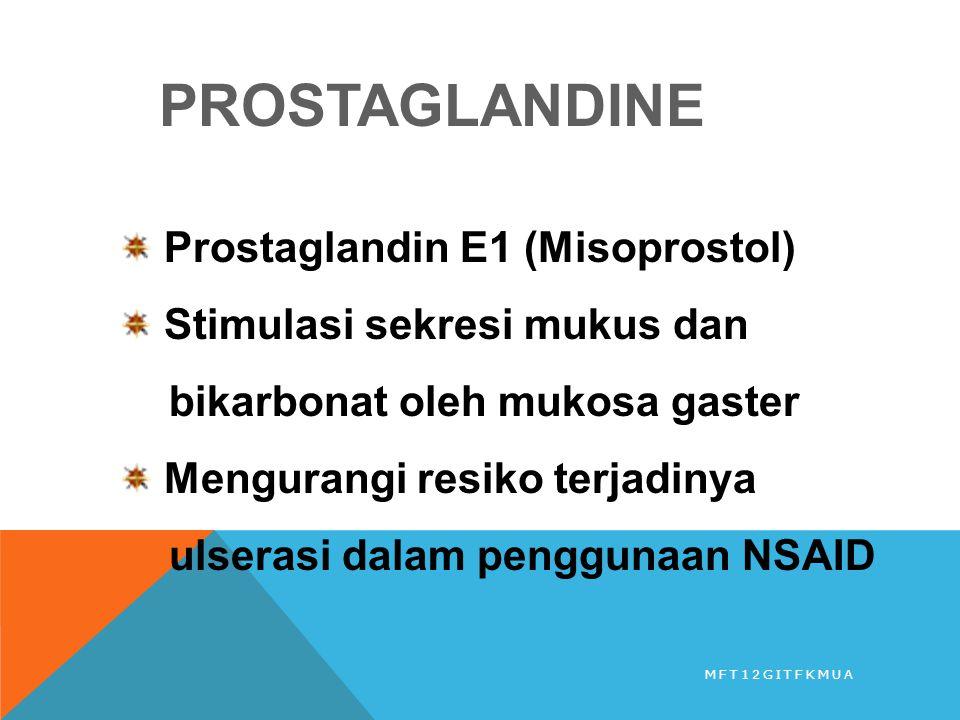 PROSTAGLANDINE Prostaglandin E1 (Misoprostol)