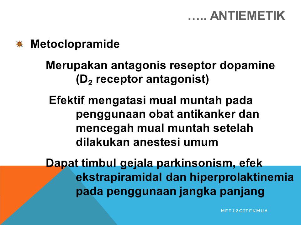 ….. ANTIEMETIK Metoclopramide