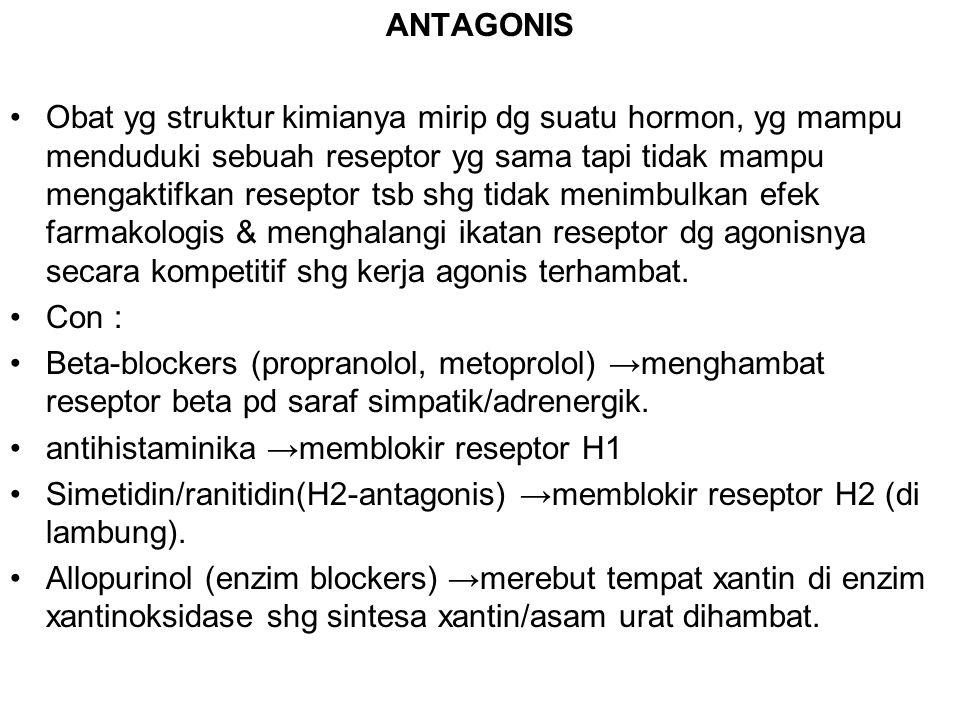 ANTAGONIS