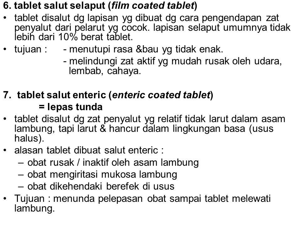 6. tablet salut selaput (film coated tablet)