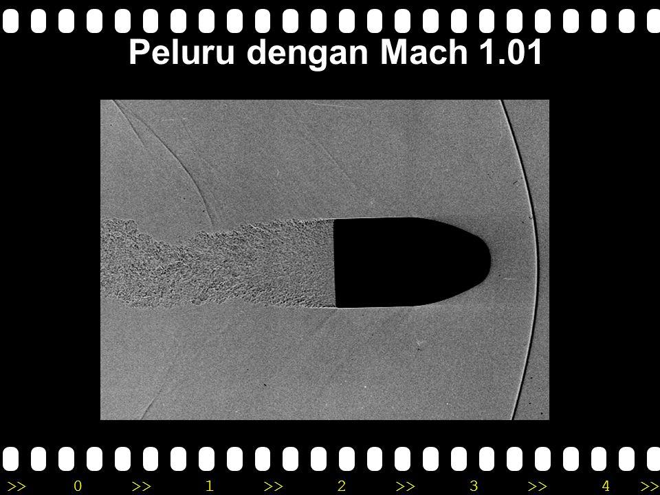 Peluru dengan Mach 1.01