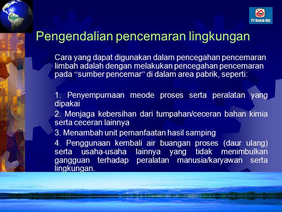Pengendalian pencemaran lingkungan