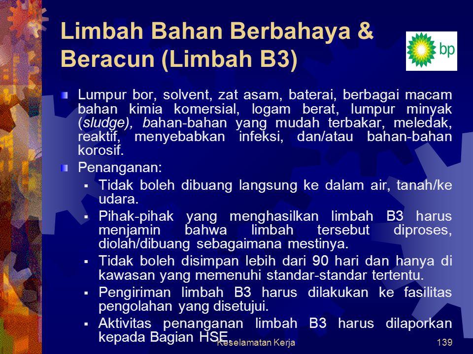 Limbah Bahan Berbahaya & Beracun (Limbah B3)