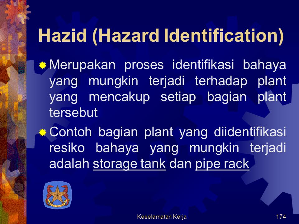 Hazid (Hazard Identification)