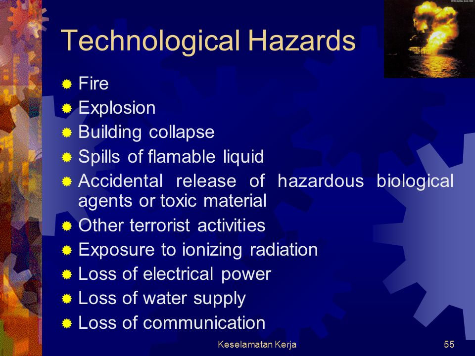 Technological Hazards