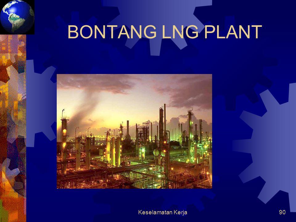 BONTANG LNG PLANT Keselamatan Kerja