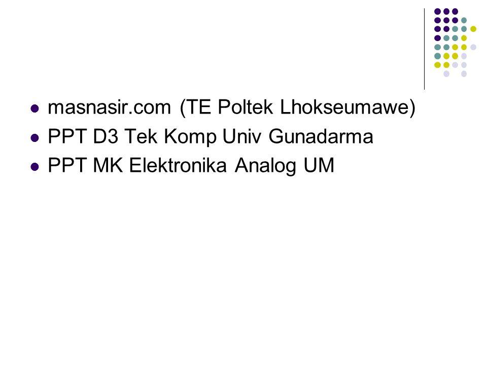 masnasir.com (TE Poltek Lhokseumawe)