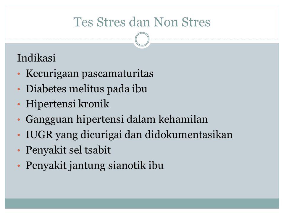 Tes Stres dan Non Stres Indikasi Kecurigaan pascamaturitas