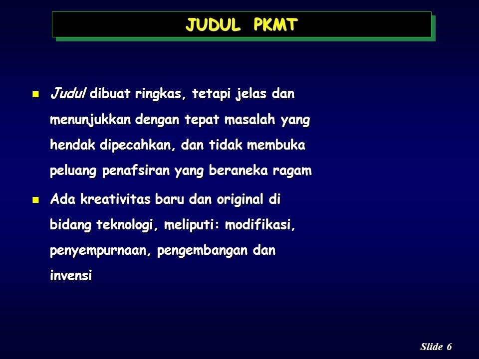 JUDUL PKMT