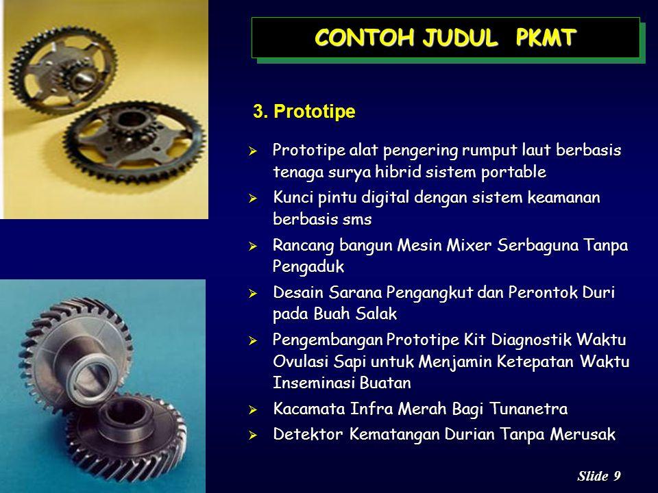 CONTOH JUDUL PKMT 3. Prototipe