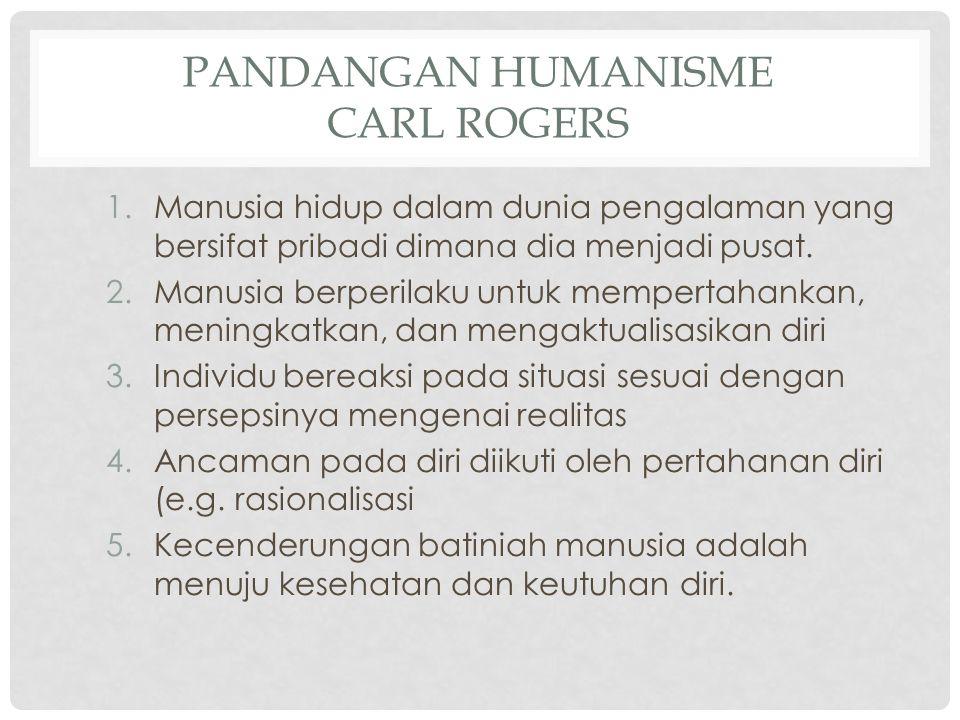 Pandangan Humanisme Carl Rogers