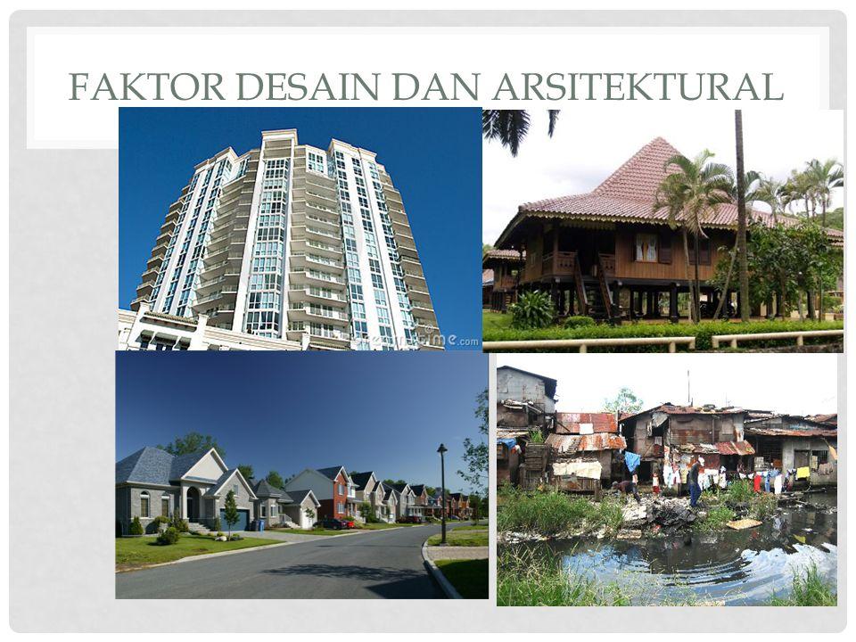Faktor desain dan arsitektural