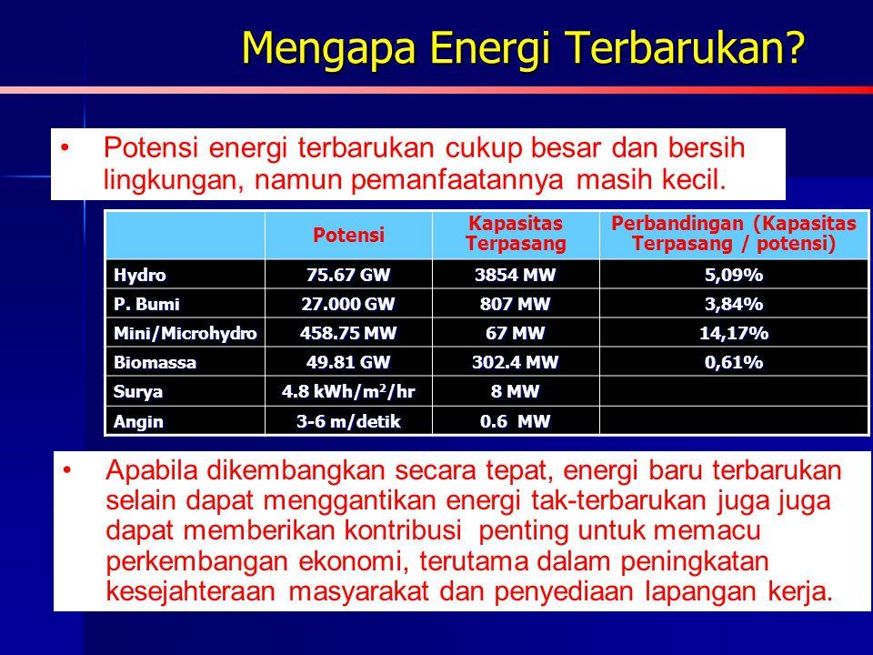 Mengapa Energi Terbarukan