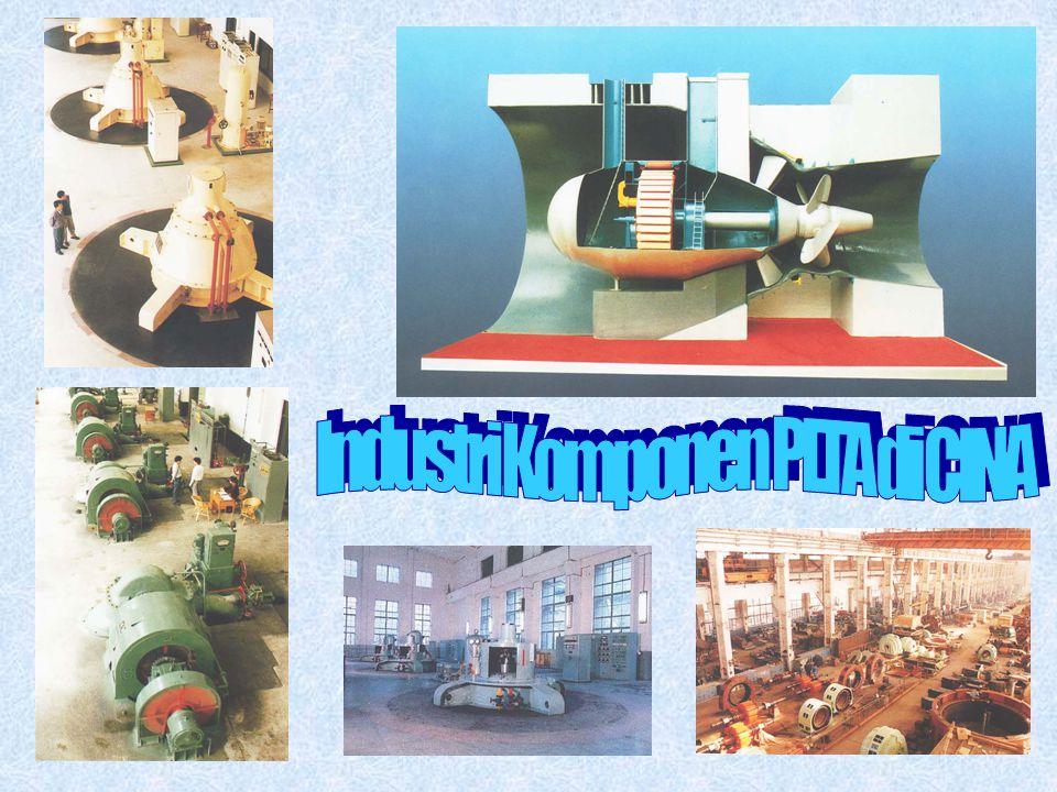 Industri Komponen PLTA di CINA