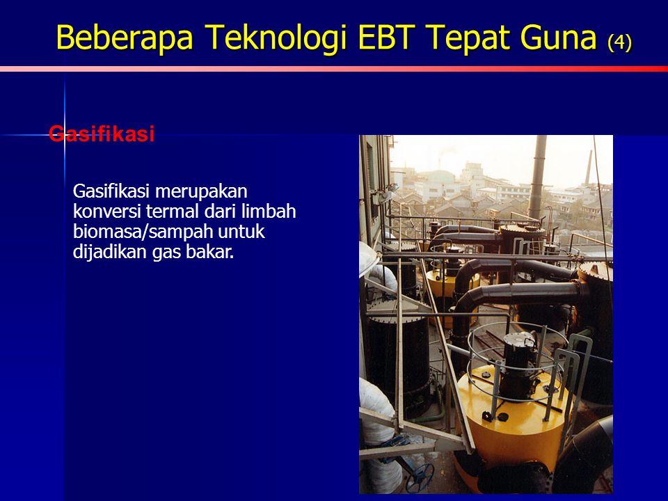 Beberapa Teknologi EBT Tepat Guna (4)