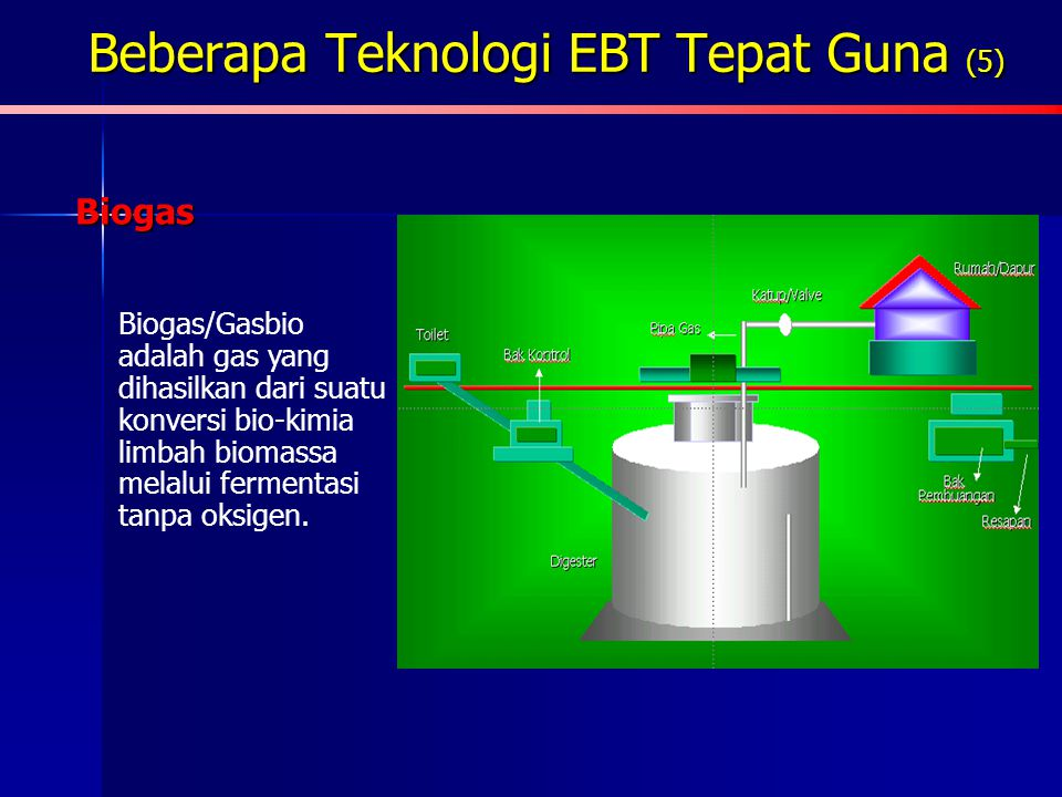 Beberapa Teknologi EBT Tepat Guna (5)