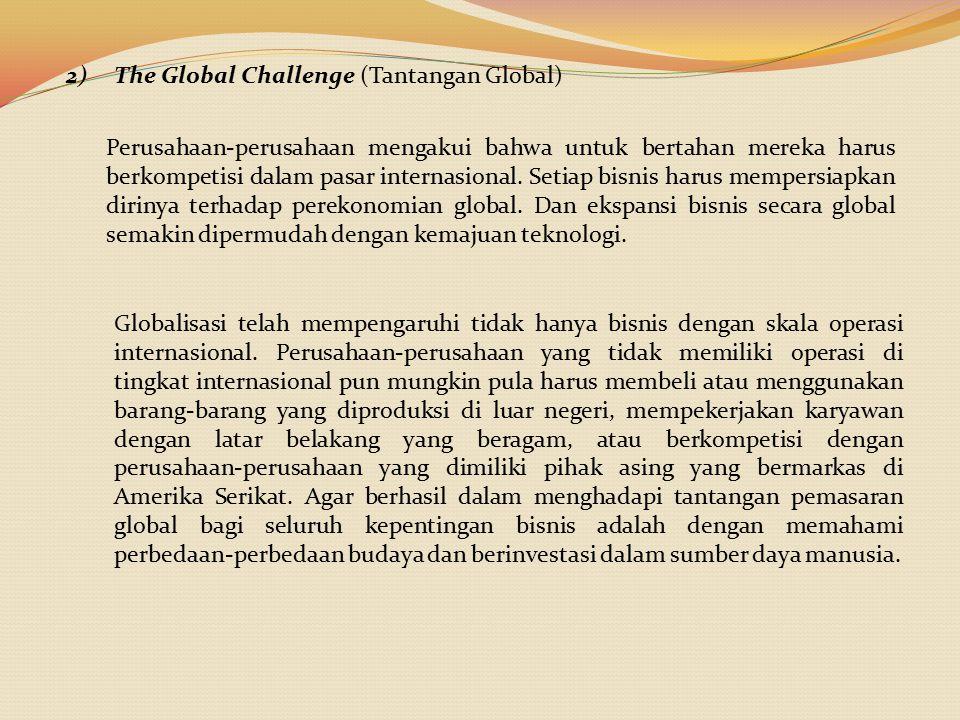 The Global Challenge (Tantangan Global)