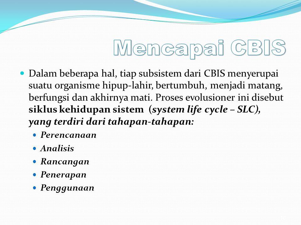 Mencapai CBIS