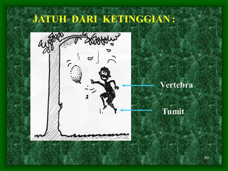 JATUH DARI KETINGGIAN :