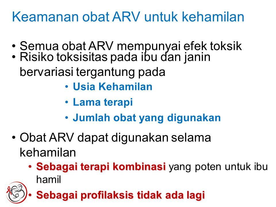 Keamanan obat ARV untuk kehamilan