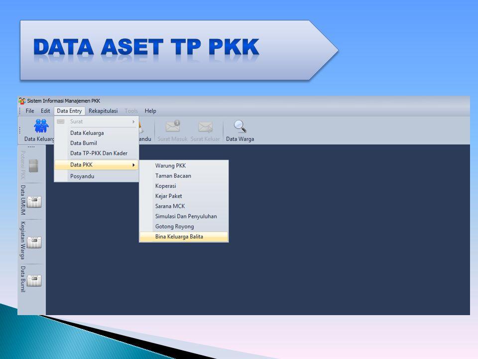 Data ASET TP PKK