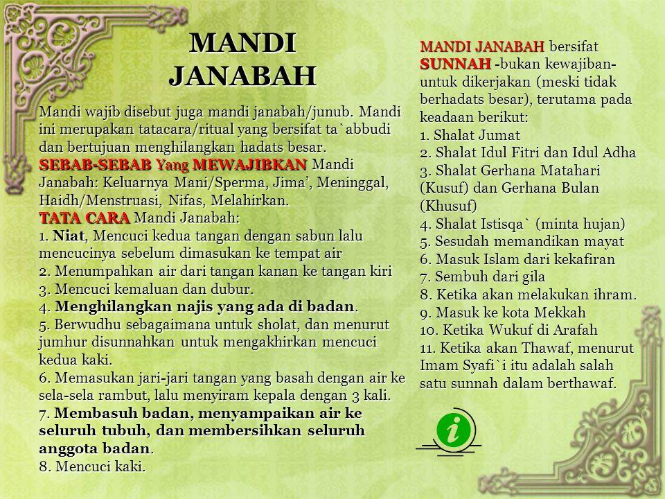 MANDI JANABAH