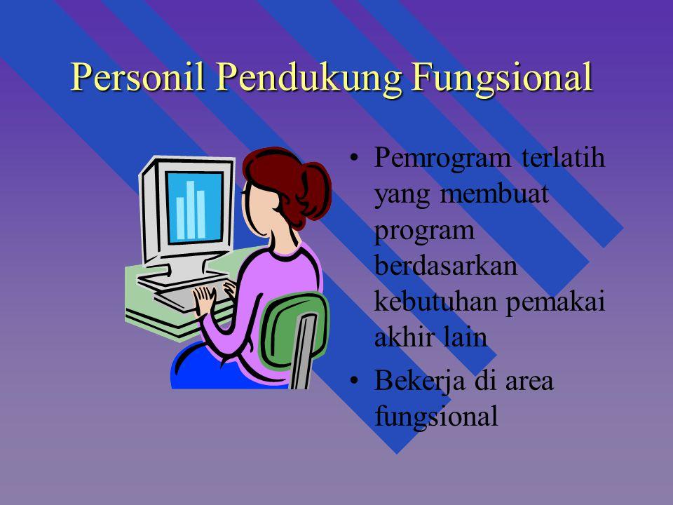 Personil Pendukung Fungsional