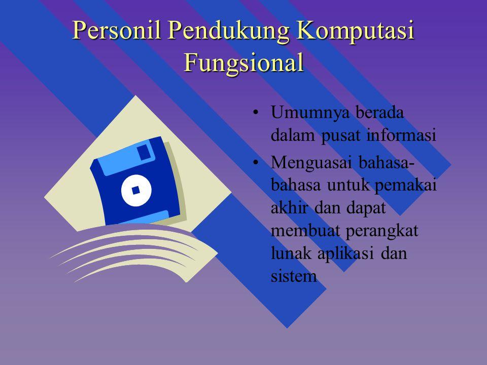 Personil Pendukung Komputasi Fungsional