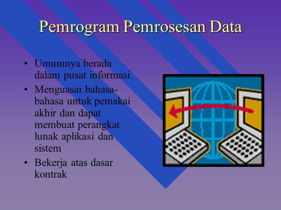 Pemrogram Pemrosesan Data