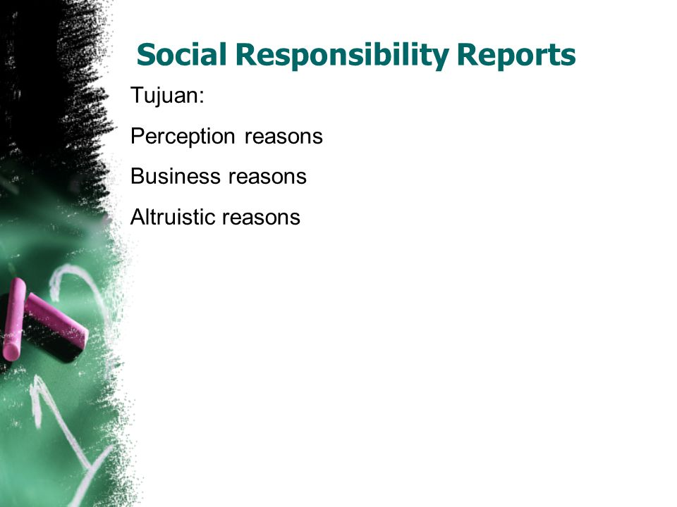 Social Responsibility Reports