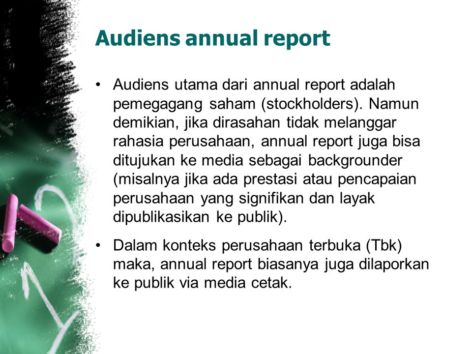 Audiens annual report