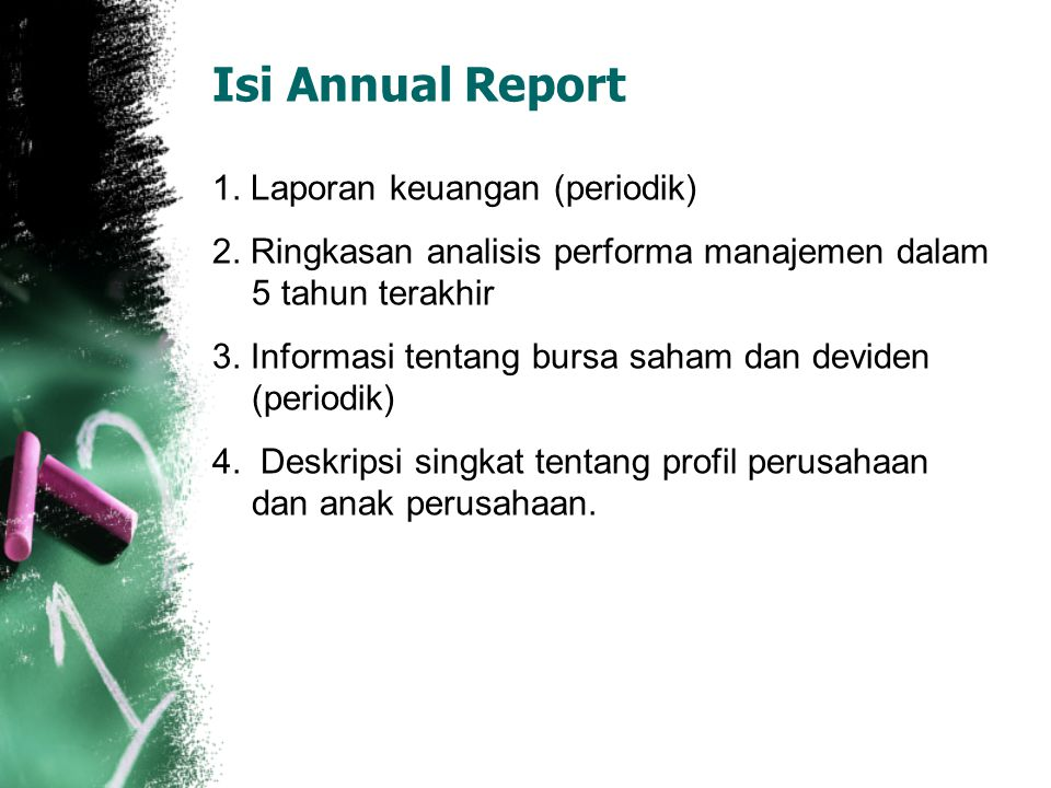 Isi Annual Report