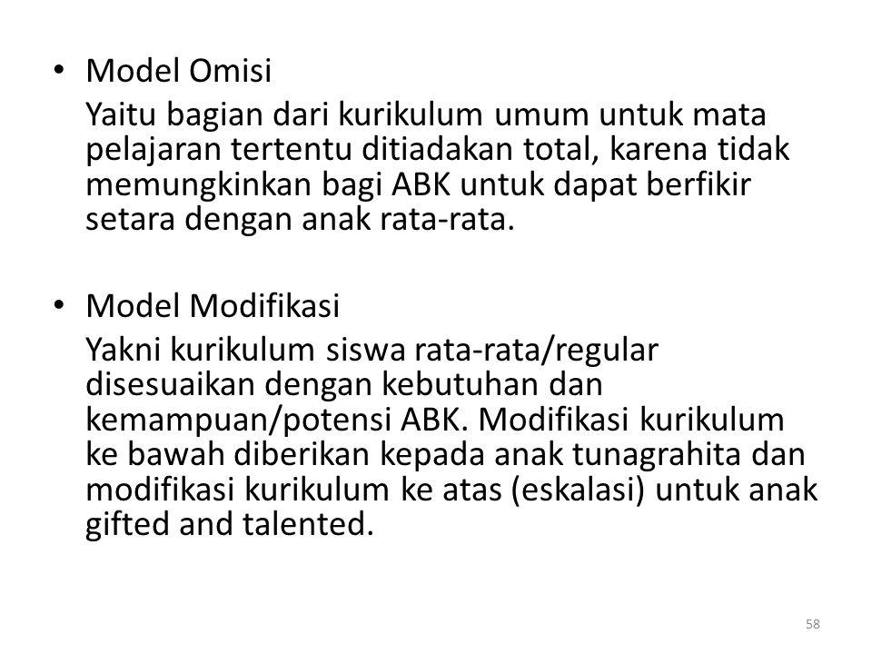 Model Omisi