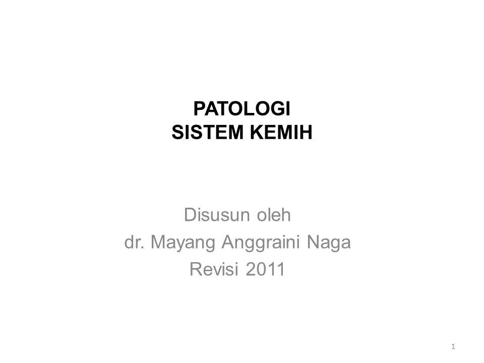 Disusun oleh dr. Mayang Anggraini Naga Revisi 2011