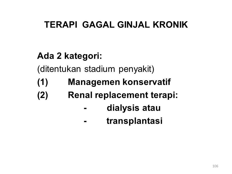 TERAPI GAGAL GINJAL KRONIK