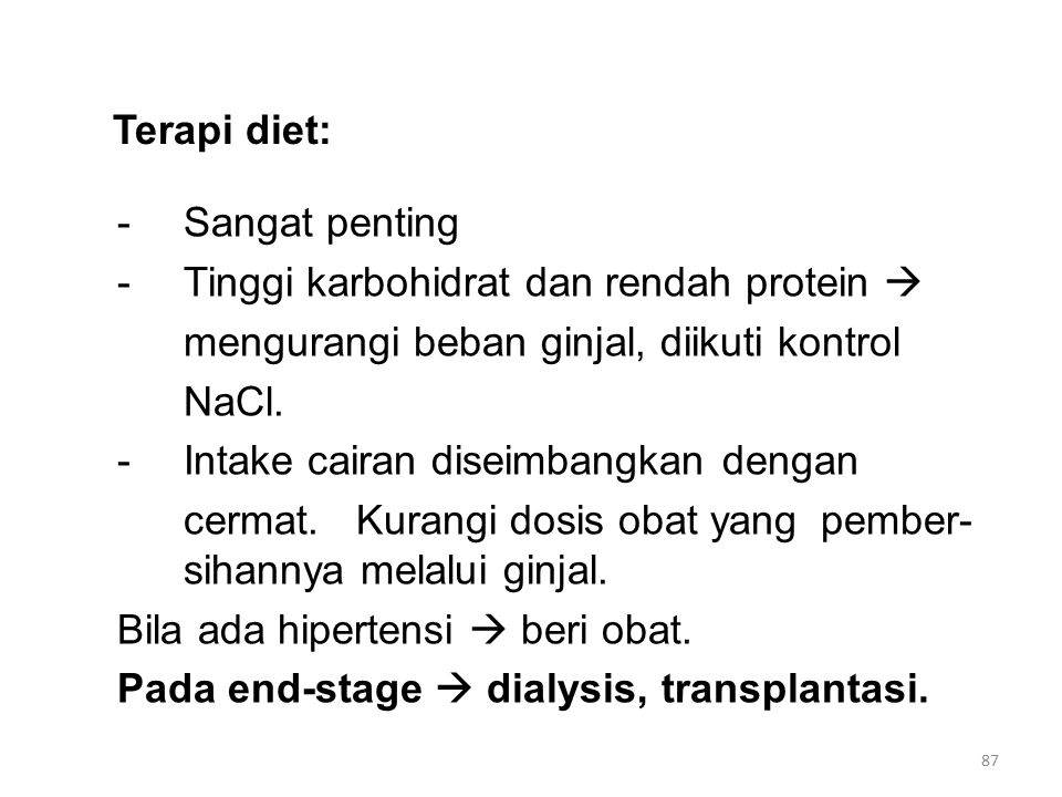 Terapi diet:
