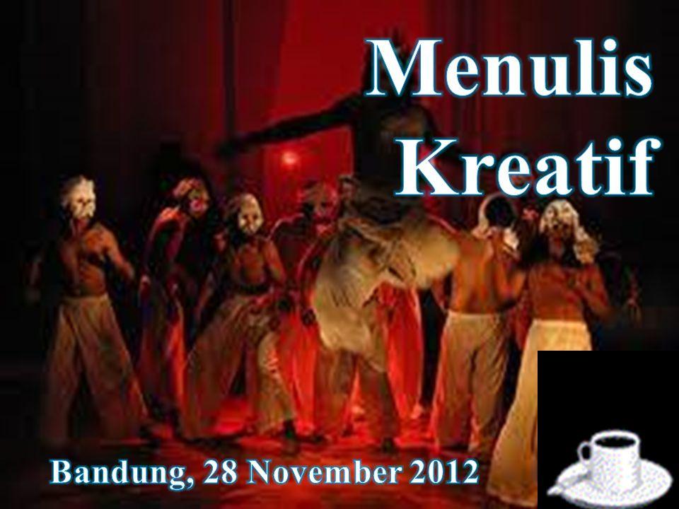 Menulis Kreatif Bandung, 28 November 2012